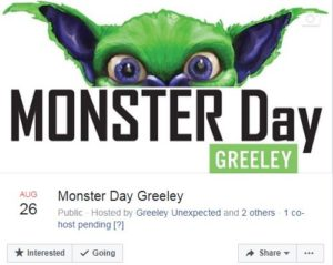 Monster Day FB Event