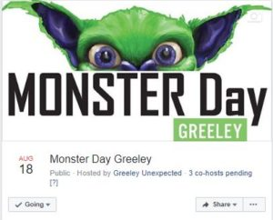 Monster Day Greeley Facebook