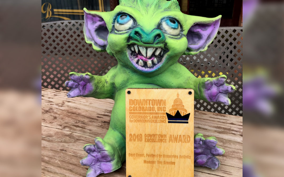 2018 Governor's Award for Downtown Excellence – Monster Day Greeley