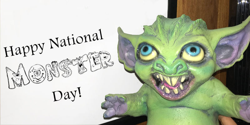 Happy National Monster Day!