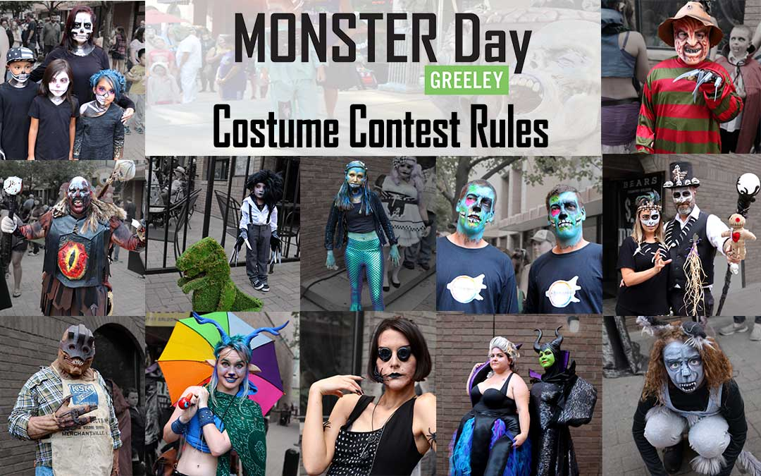 Monster Day Greeley 2019 Costume Contest
