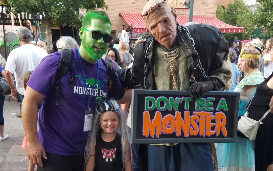 Proceeds From Monster Day Go To Don't Be A Monster
