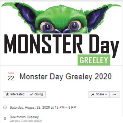 Monster Day 2020 Facebook